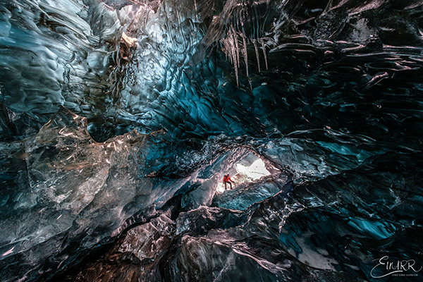 Mountaineering Ice cave tour