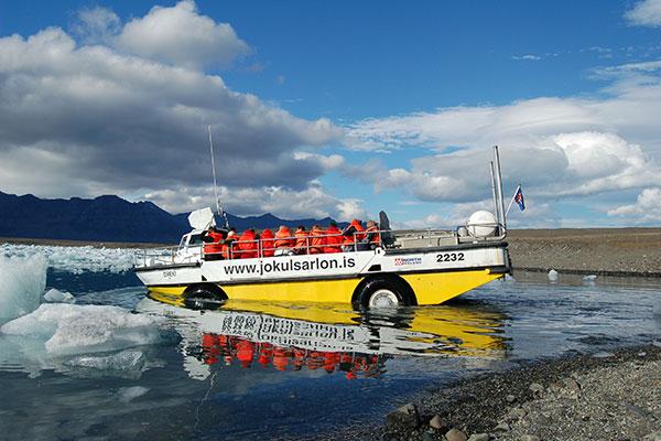 Amphibian boat Tour
